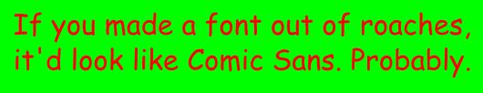 comic sans 3