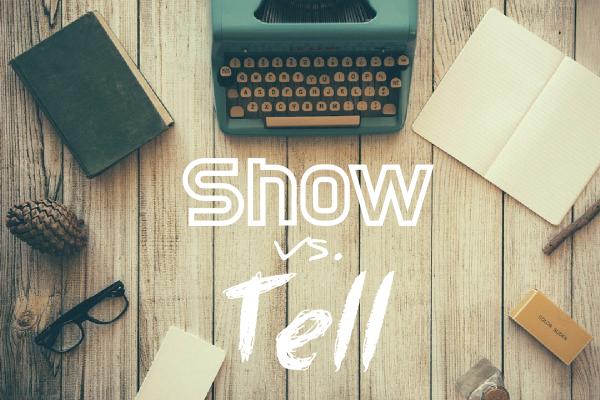 Image result for show vs tell